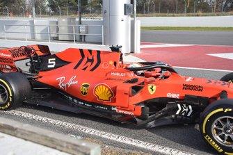 Ferrari SF90, dettaglio