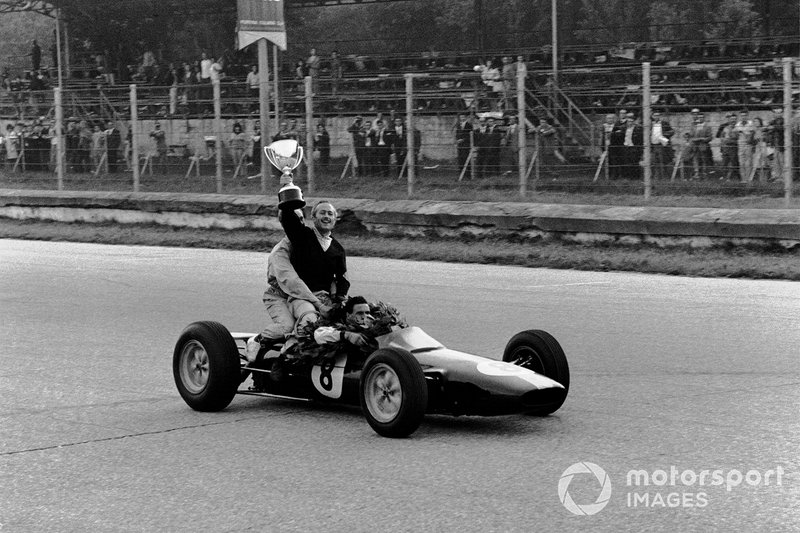 Jim Clark: 9 anni con Lotus (dal 1960 al 1968)