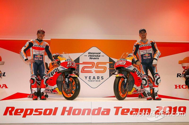 Marc Márquez, Jorge Lorenzo, Repsol Honda Team