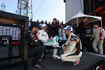Daniel Suarez, Esteban Gutierrez, Abraham Calderon