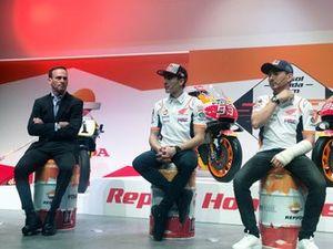 Alberto Puig, Marc Marquez, Jorge Lorenzo