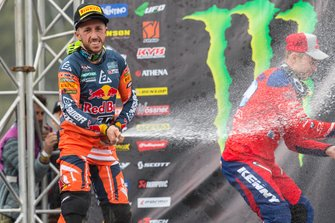 Tony Cairoli, Red Bull KTM Factory Racing en Jeremy Van Horebeek