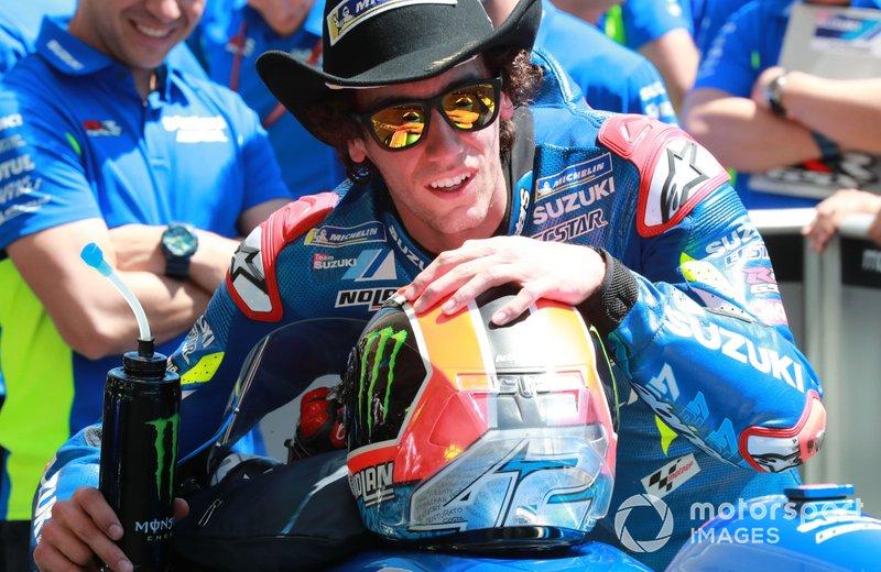 1. Alex Rins, Team Suzuki MotoGP