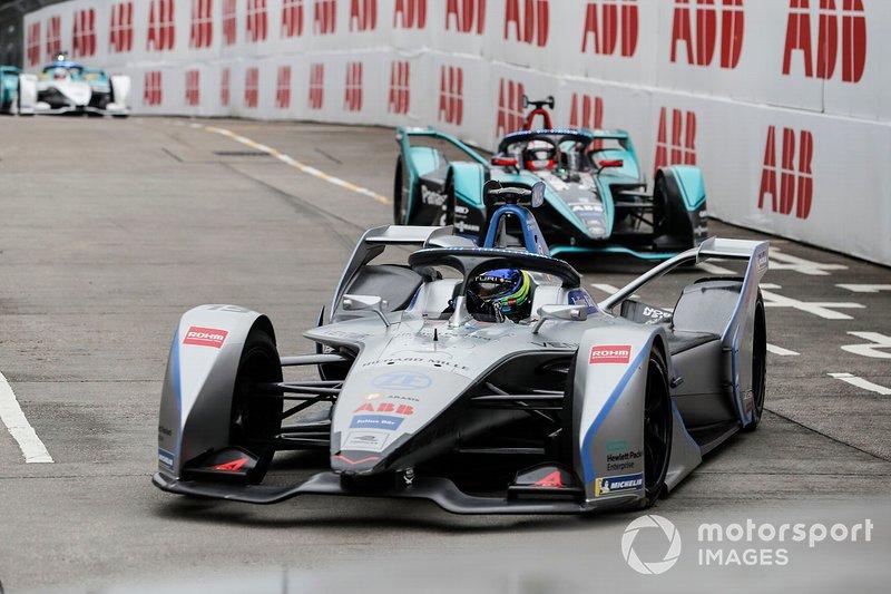 Felipe Massa y Mitch Evans