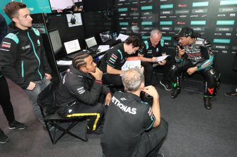Джон Макфи, Льюис Хэмилтон, Франко Морбиделли, Petronas Yamaha SRT
