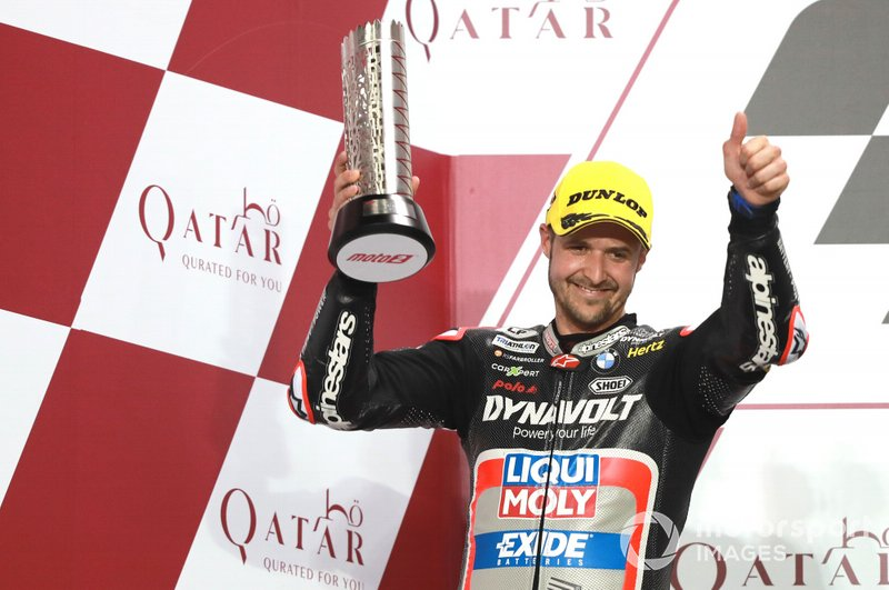 Podio: Thomas Luthi, Intact GP
