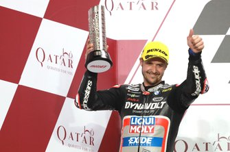 Podium: Thomas Luthi, Intact GP