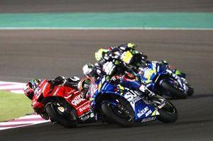 Danilo Petrucci, Ducati Team, Alex Rins, Team Suzuki MotoGP