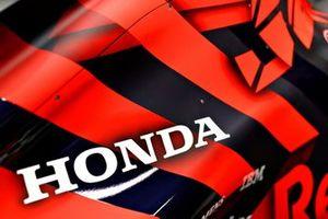 Le logo Honda sur la Red Bull Racing RB15