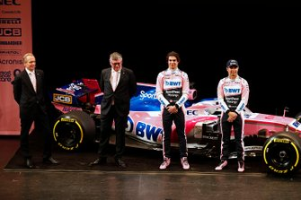 Andrew Green, Racing Point F1 Team Technical Director, Otmar Szafnauer, Racing Point F1 Team Principal, Lance Stroll, Racing Point F1 Team, Lance Stroll, Racing Point F1 Team and Sergio Perez, Racing Point F1 Team
