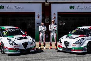Циньхуа Ма, Кевин Чеккон, Team Mulsanne Alfa Romeo Giulietta TCR