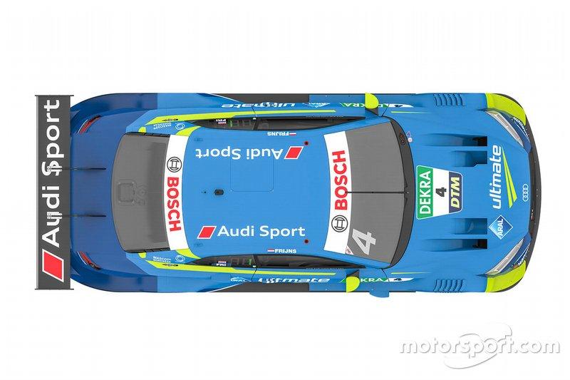 Автомобиль Audi RS5 DTM Робина Фрейнса
