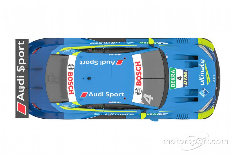Audi RS5 DTM von Robin Frijns