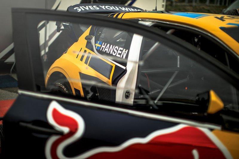 Car detail of Kevin Hansen, Team Hansen