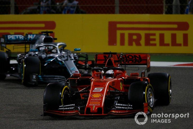 Sebastian Vettel - Ferrari: 4 puan