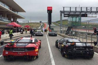 Race 2 pre-grid