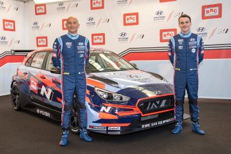 Gabriele Tarquini, Norbert Michelisz, Hyundai BRC Team