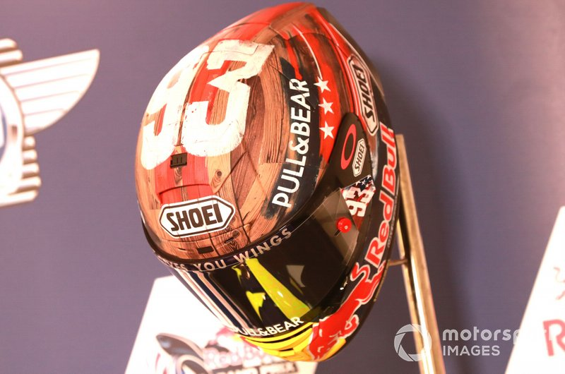 Casco Marc Marquez, Repsol Honda Team