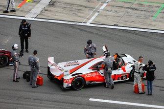 #6 Acura Team Penske Acura DPi, DPi: Juan Pablo Montoya, Dane Cameron, Simon Pagenaud, Pre-Race
