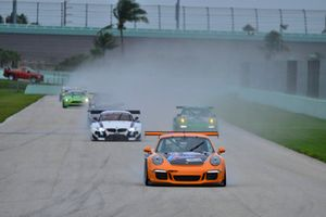 #61 MP1B Porsche GT3 Cup driven by Sebastian Carazo of NGT Motorsports