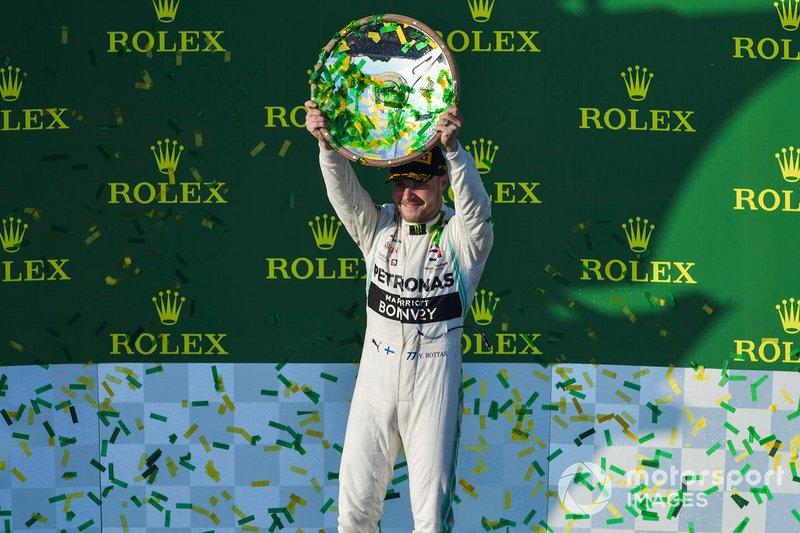 2019 - Valtteri Bottas abre o ano com dobradinha da Mercedes na Austrália