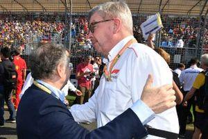 Jean Todt, President, FIAand Ross Brawn, Managing Director of Motorsports, FOM