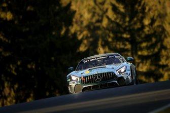 #162 Black Falcon Team IDENTICA, Mercedes-AMG GT4: Tobias Müller, Tim Scheerbarth, Tristan Viidas
