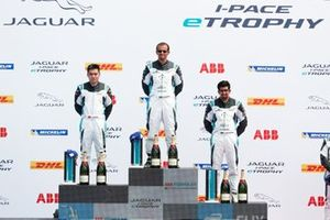 Bandar Alesayi, Saudi Racing, Yaqi Zhang, Team China, Ahmed Bin Khanen, Saudi Racing, on the podium