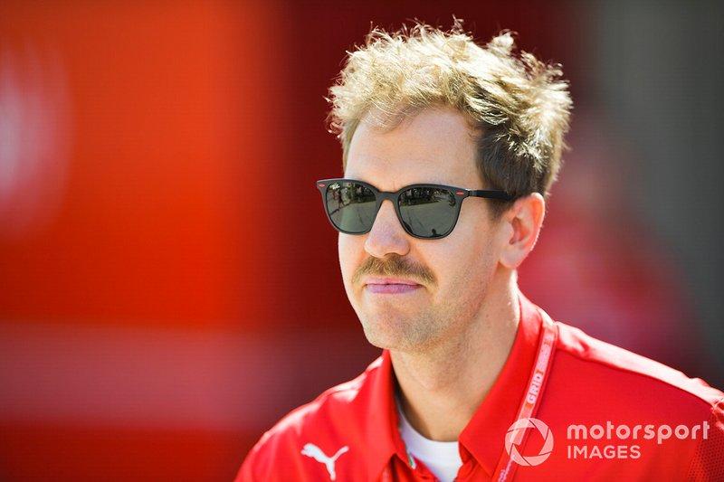 Sebatian Vettel, Ferrari
