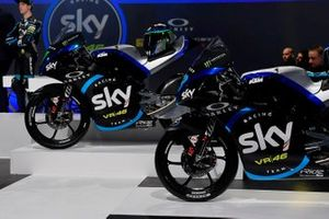Moto3 Sky Racing Team VR46 bikes