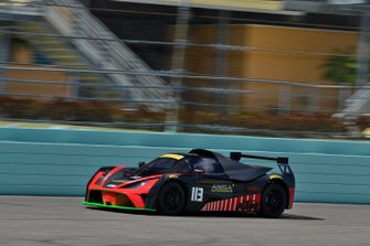 #113 MP2B KTM X-Bow driven by Chris Fountas of ANSA Motorsports