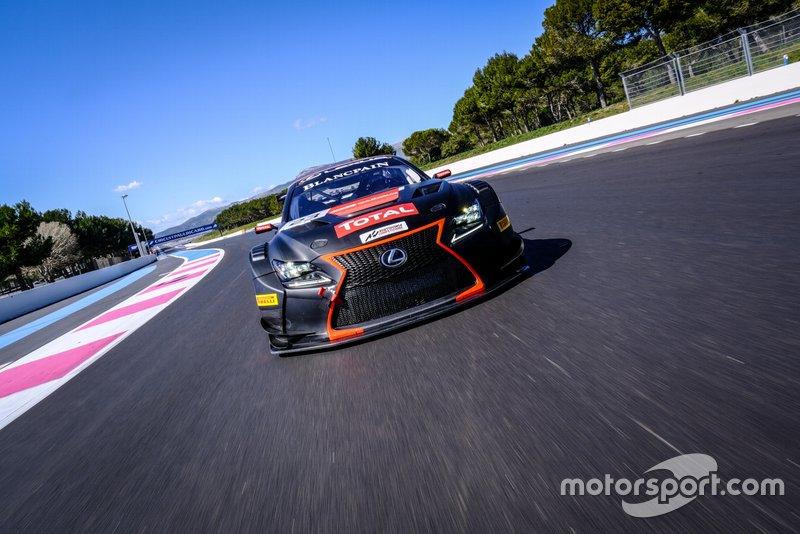 #23 Tech1 Racing FRA Lexus RCF GT3