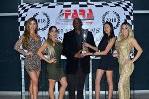 FARA MP3A Sprint Champion Victor Haye