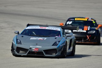#77 MP1A Lamborghini Gallardo R-EX driven by William Freire, Chico Horta, and Ramon Alcaraz of Team Rey Racing