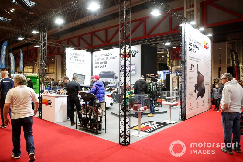 One of the stands at the Autosport show