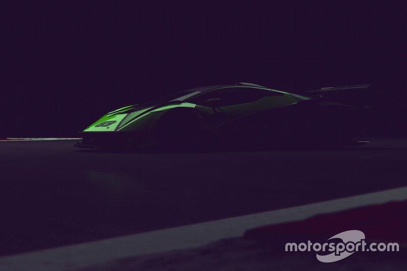 Teaser hypercar Lamborghini