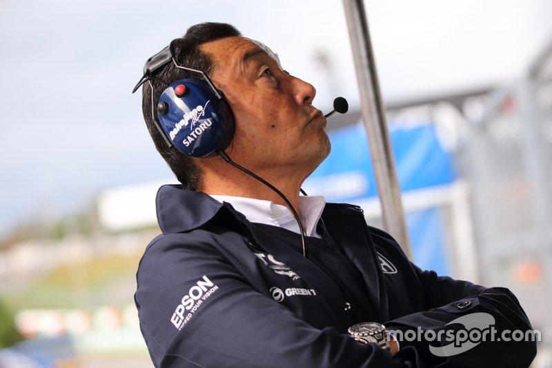 Руководитель TCS Nakajima Racing Сатору Накаджима