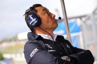 中嶋悟監督(TCS NAKAJIMA RACING)