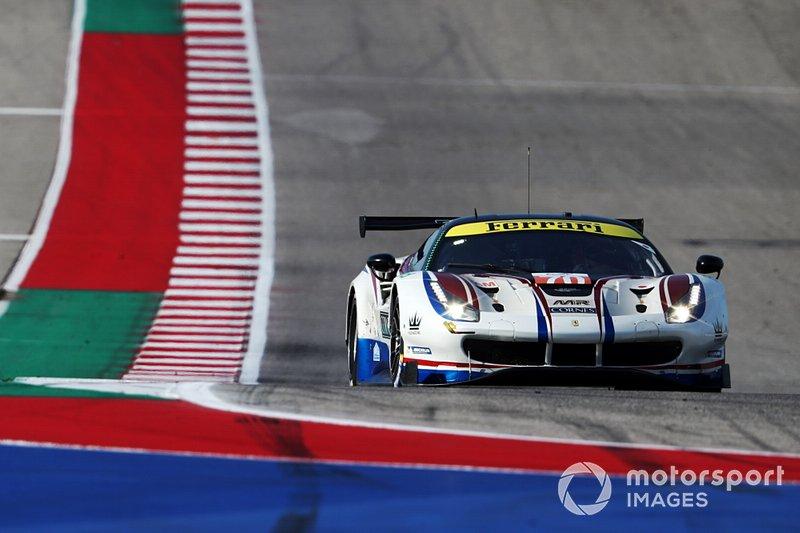 #70 MR Racing Ferrari 488 GTE: Motoaki Ishikawa, Olivier Beretta, Kei Cozzolino