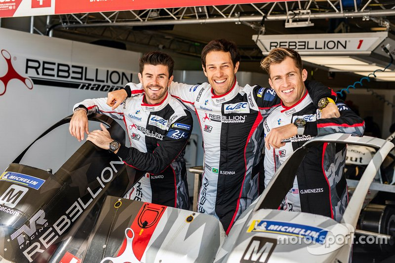 #1 Rebellion Racing Rebellion R13 - Gibson: Bruno Senna, Gustavo Menezes, Norman Nato