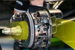 Freno Mercedes F1 AMG W11