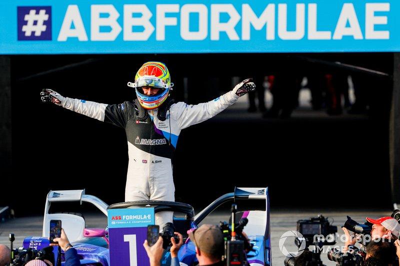 El ganador: Alexander Sims, BMW I Andretti Motorsports