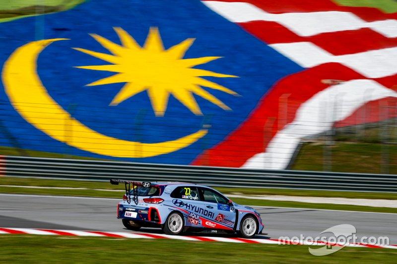 Mitchell Cheah Min Jie, Hyundai Team Engstler Hyundai i30 TCR