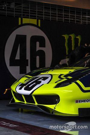 #46 Monster VR46 Kessel Ferrari 488 GT3