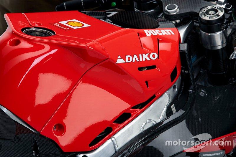 Dettagli della Ducati Desmosedici GP20