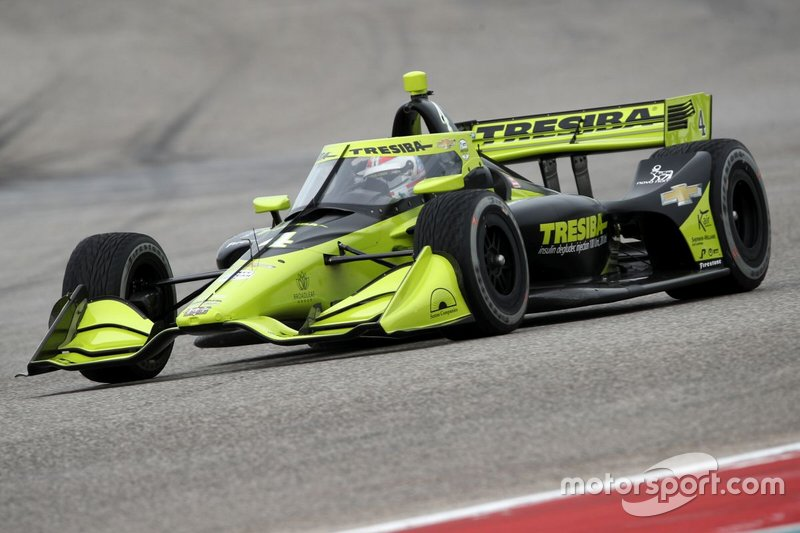 #4: Charlie Kimball, A.J. Foyt Racing, Chevrolet