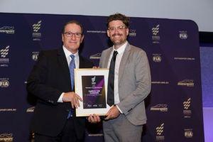 Motorsport Australia CEO Eugene Arocca and Andrew van Leeuwen