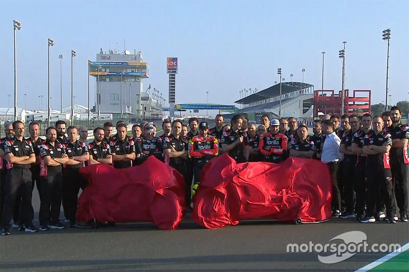 Andrea Iannone, Aleix Espargaro, Bradley Smith, Aprilia Racing Team Gresini