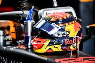 Casco de Alexander Albon, Red Bull Racing