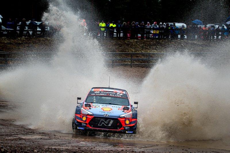 2020 FIA World Rally ChampionshipOtt Tänak, Martin Järveoja, Hyundai Motorsport Hyundai i20 Coupe WRC